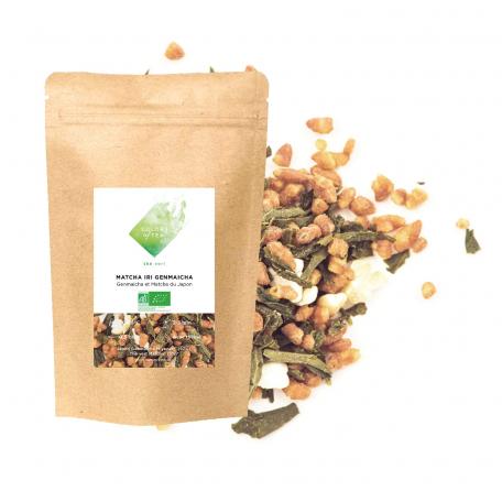 Thé vert du Japon - Genmaicha et Matcha