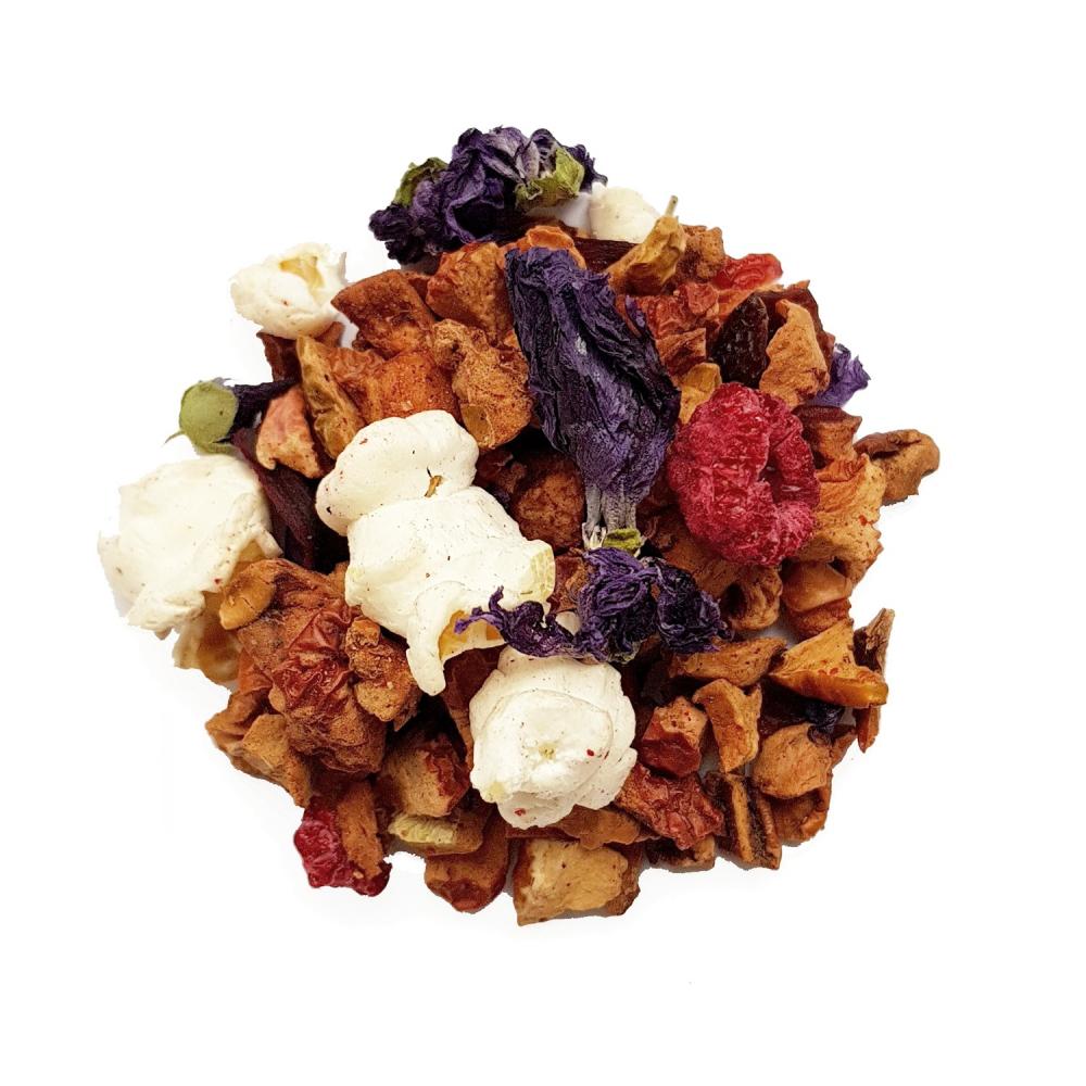 Tisane gourmande - Framboise et caramel