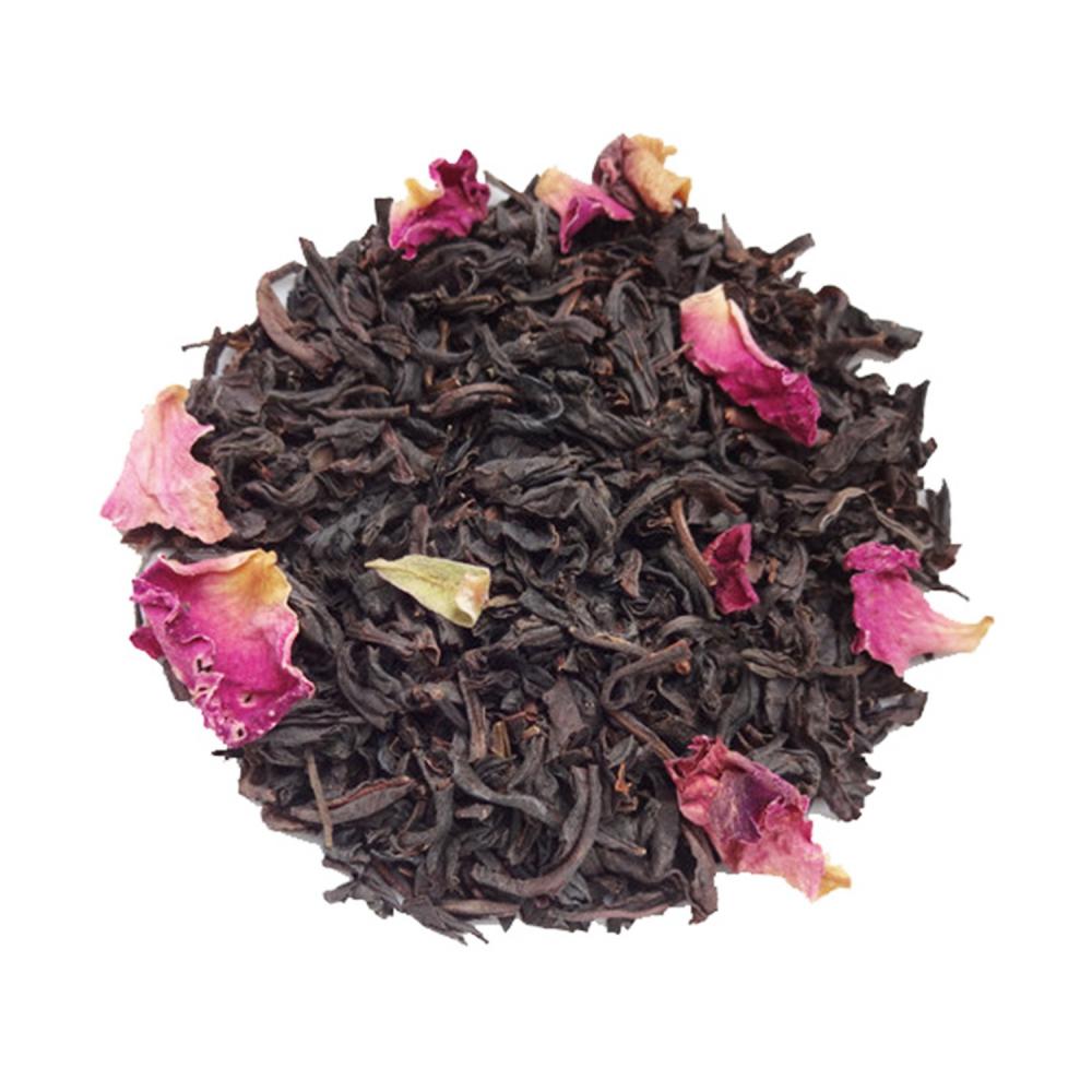 Thé noir floral - Rose