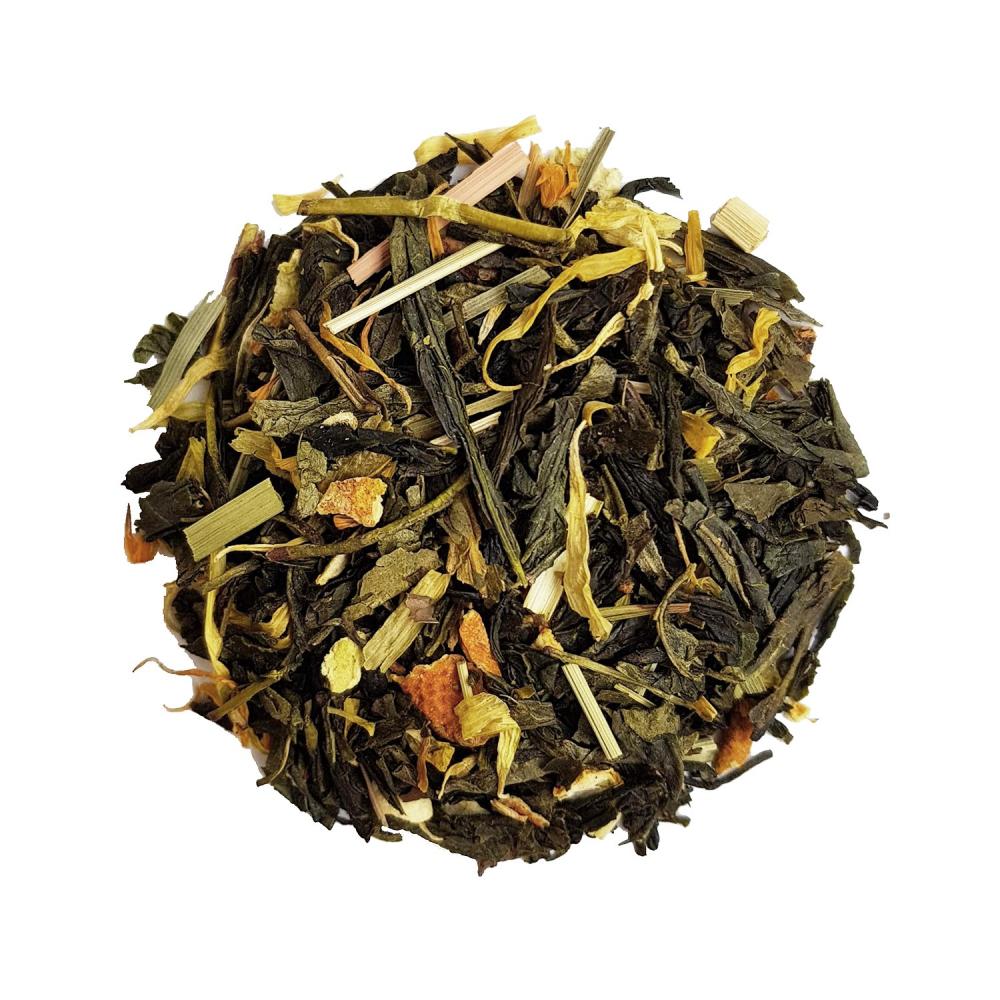 Mojitothé Thé vert agrûme - Menthe et citron Colors of Tea
