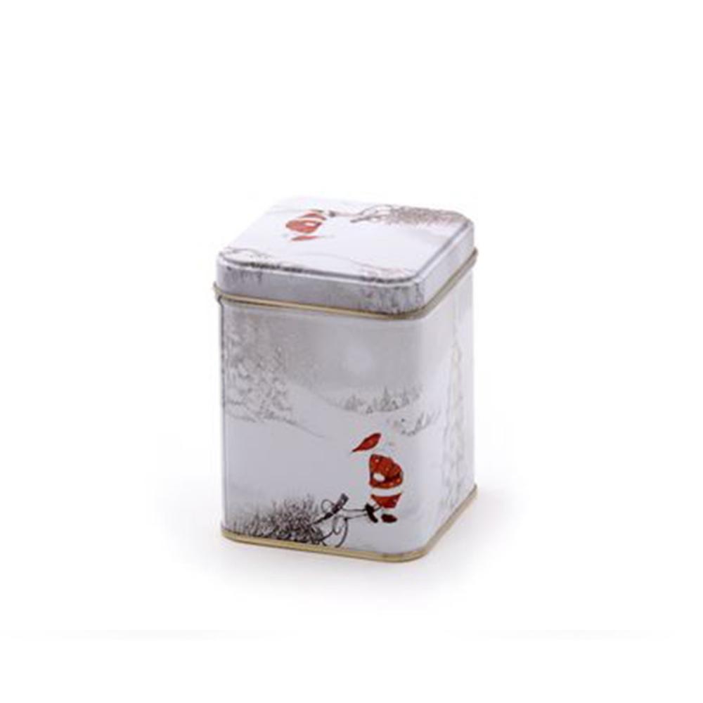 Boîte à thé Père Noël  50g à 100g de thé ou tisane Colors of Tea