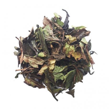 Mélange de thé blanc et vert tout doux - Vanille bourbon