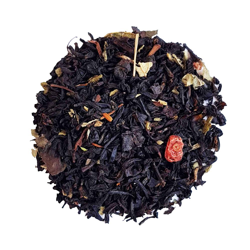 Thé noir fruits rouges - Cassis