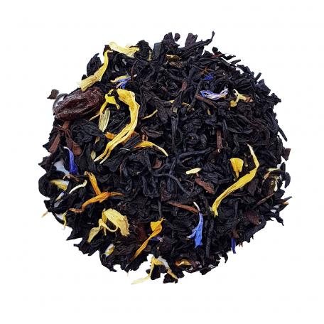 Thé noir gourmand - Caramel et raisin