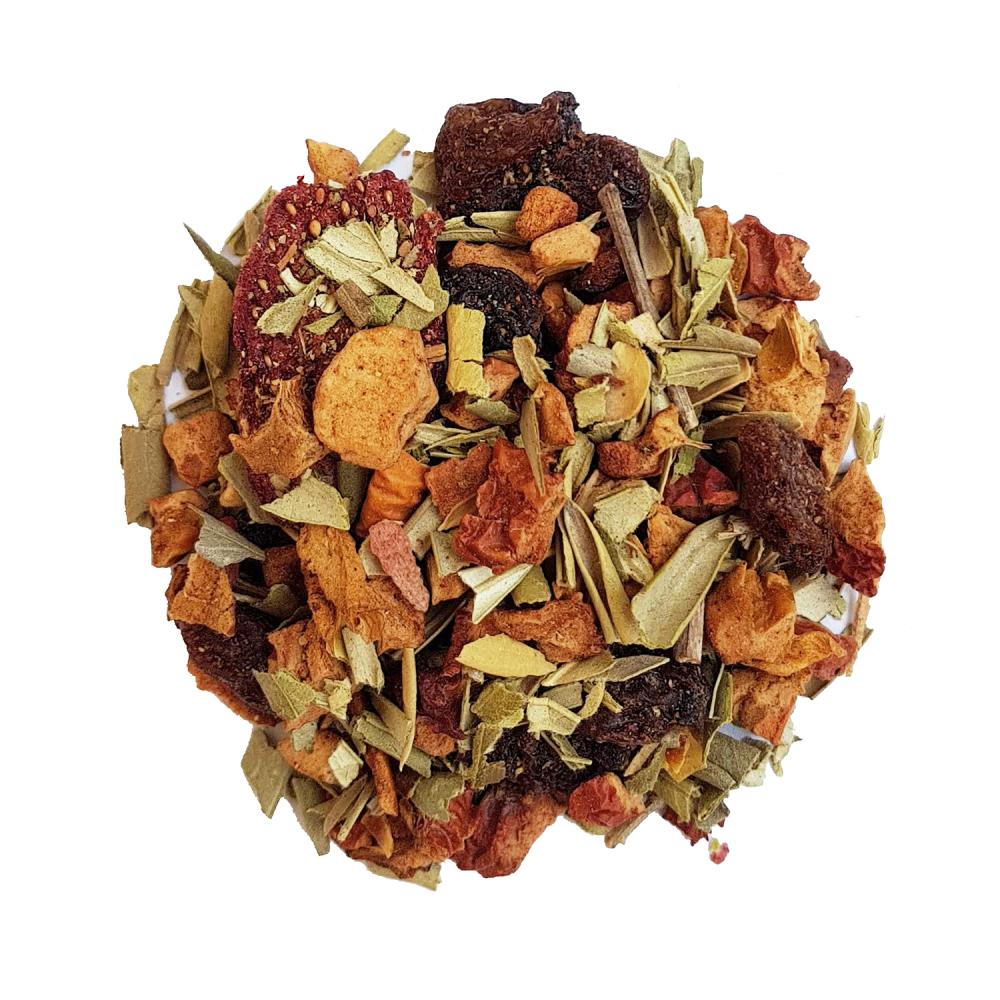 Diabolo Tisane fruitée - Fraise et grenade Colors Of Tea