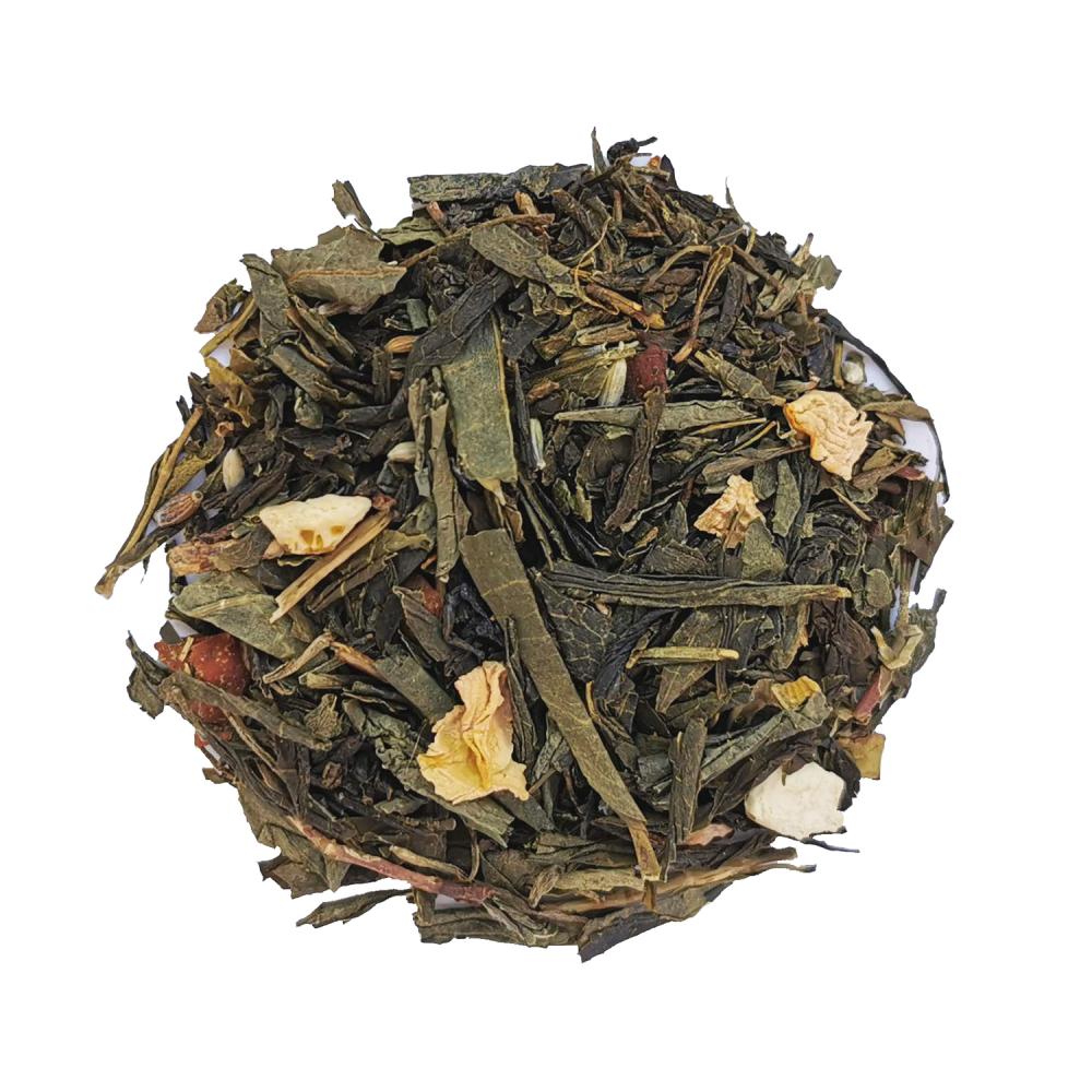 Pour toi et moi Thé vert fruité - Mangue et vanille Colors of Tea