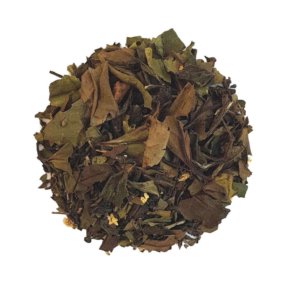 Mélange de thé blanc et vert fruité - Ananas et fleur de sureau