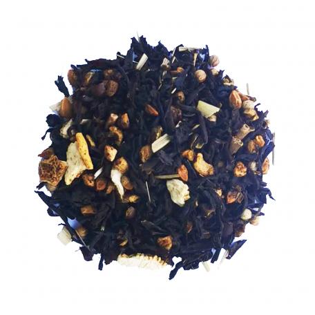 Thé noir végétal - Genièvre et citron frais