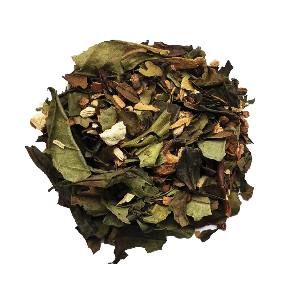Premiers Flocons Thé blanc de Noël épicé - Agrumes et fleurs Colors of Tea