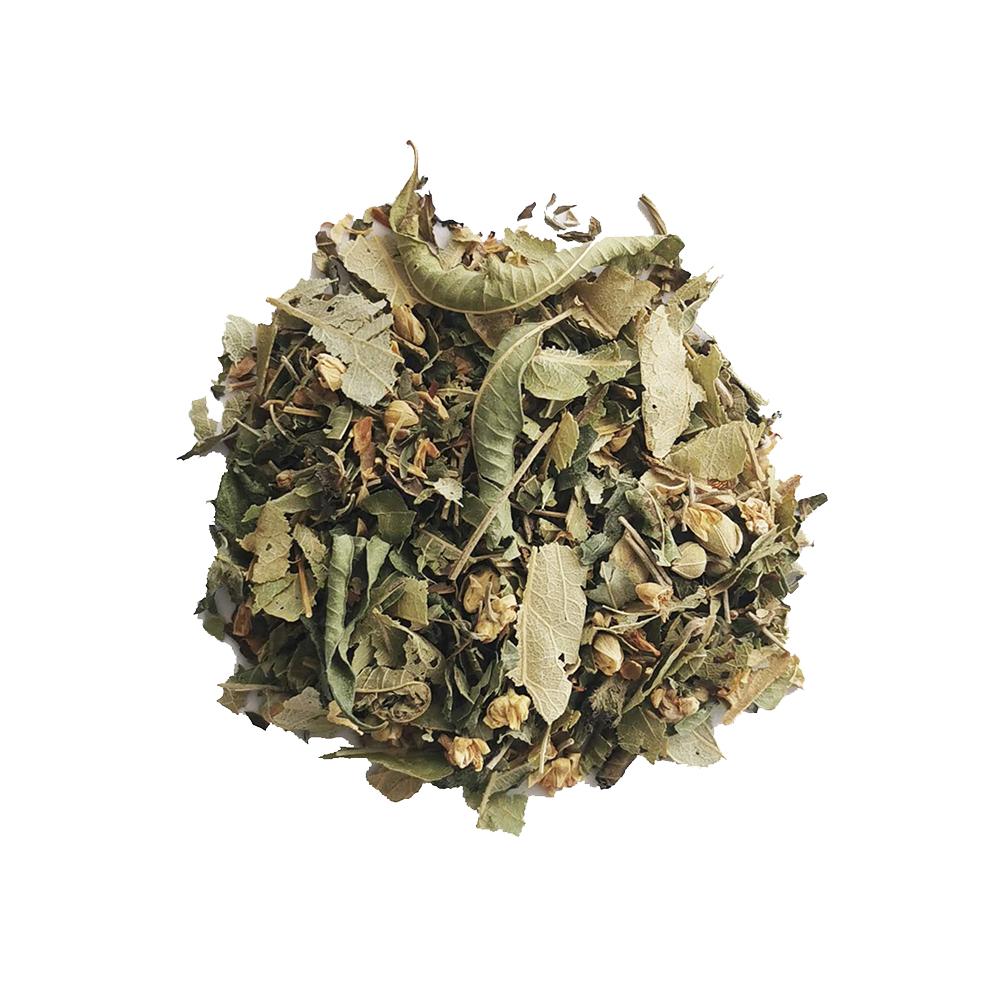 Le Repos des Guerrières Tisane végétale - Tilleul et menthe Colors of Tea