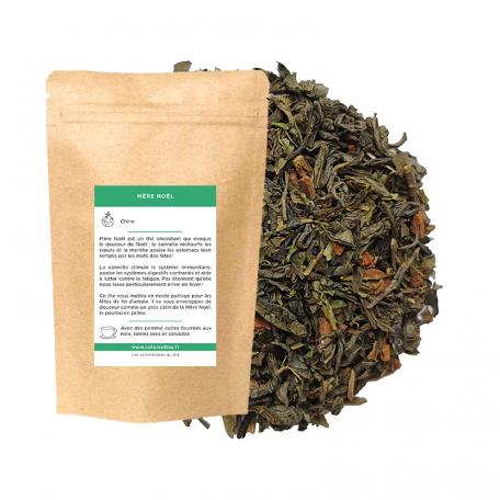 Thé vert épicé - Cannelle et menthe