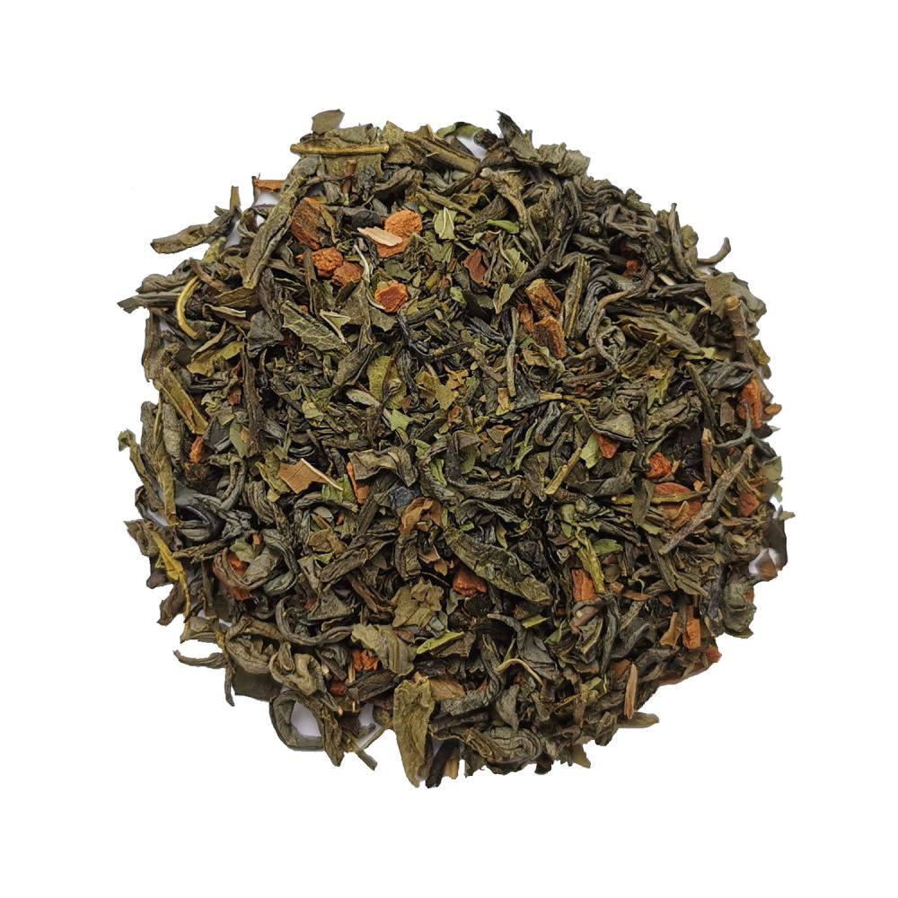 Mère Noël Thé vert épicé - Cannelle et menthe Colors of Tea