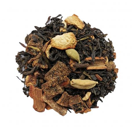 Blend de thé noir et vert gourmand - Pain d'épices