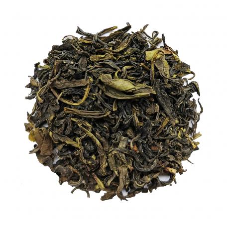 Thé vert rond et iodé