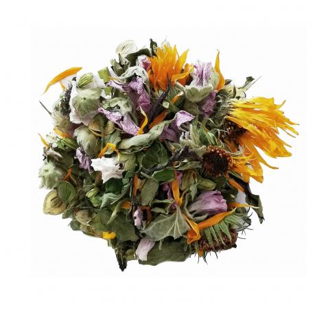 Tisane florale légèrement épicée