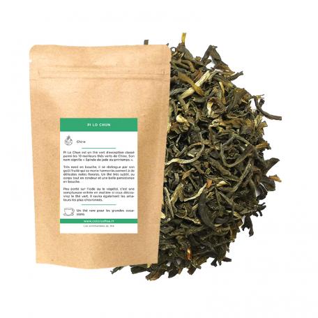 Thé vert de Chine - Très haute qualité, fort et fruité