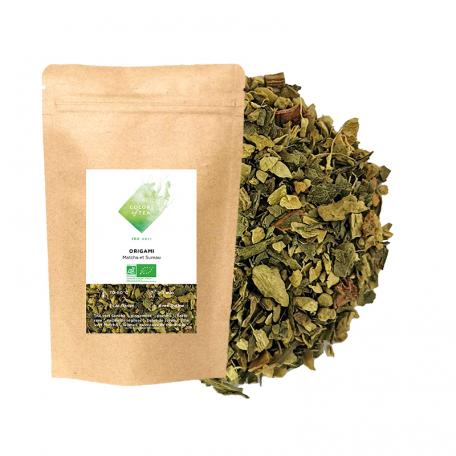 Thé vert fruité - Matcha et Sureau