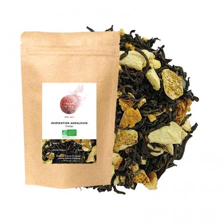 Blend de thés noir à la liqueur légèrement corsée