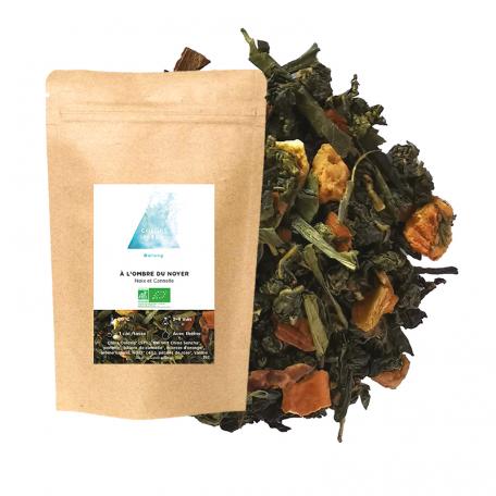 Blend de Oolong et thé vert gourmand - Noix et cannelle
