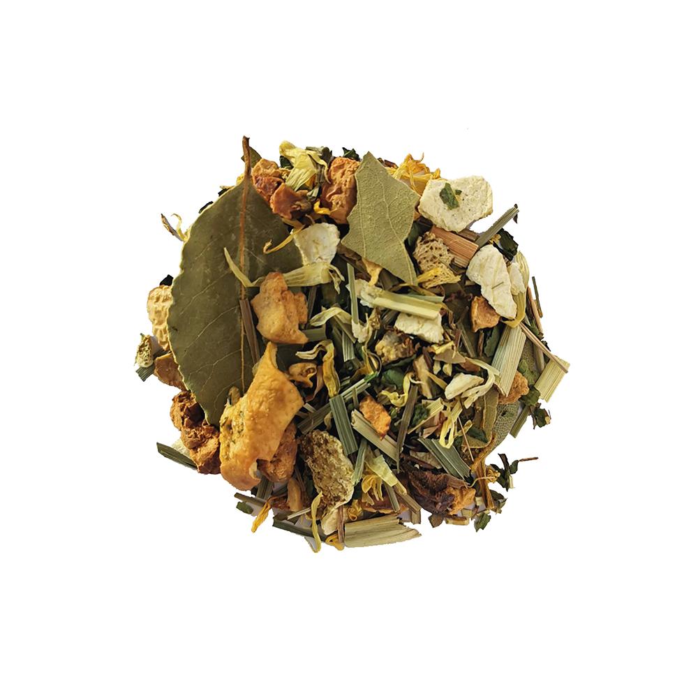 Soleil d'été Tisane fruitée - Citron et calamansi Colors of Tea