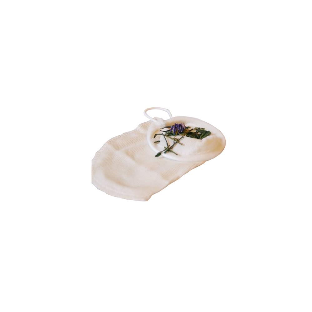 CHAUSSETTE À THÉ Filtres et autres ustensiles Filtre à thé en coton lavable