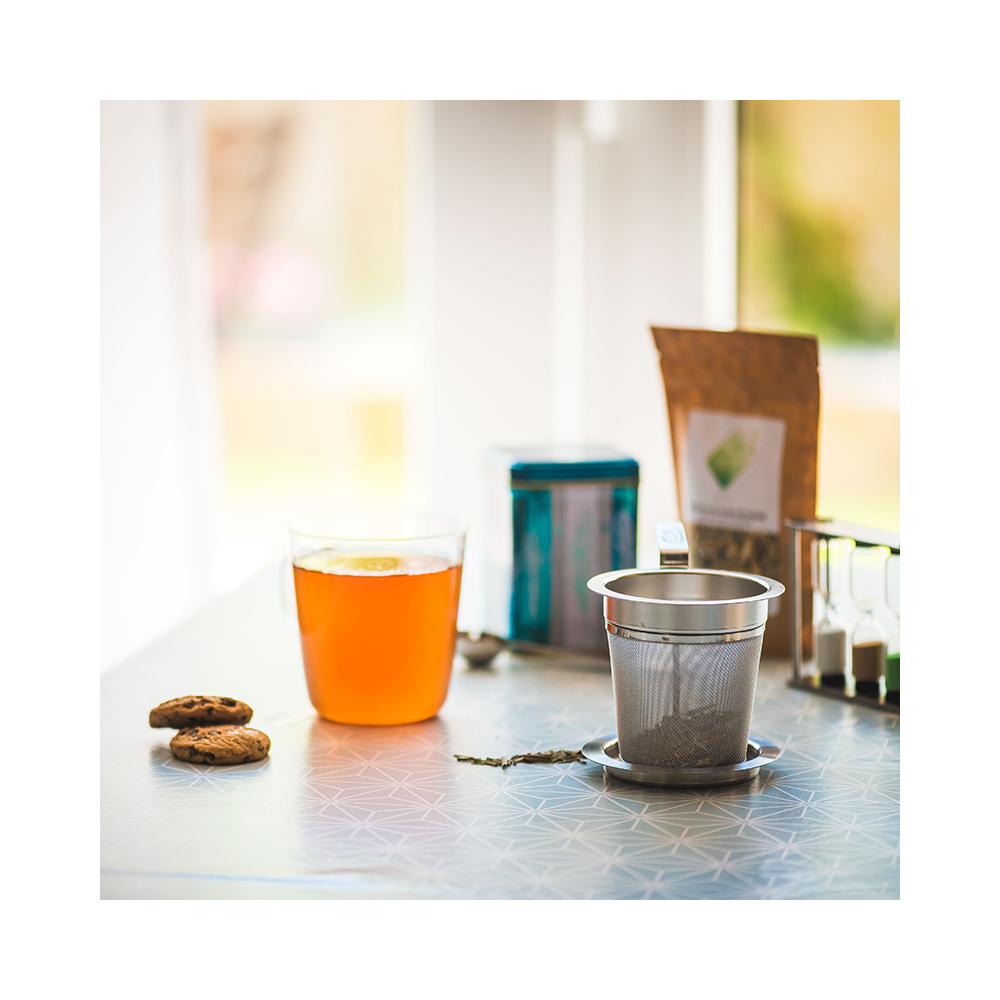 filtre à thé en inox colors of tea