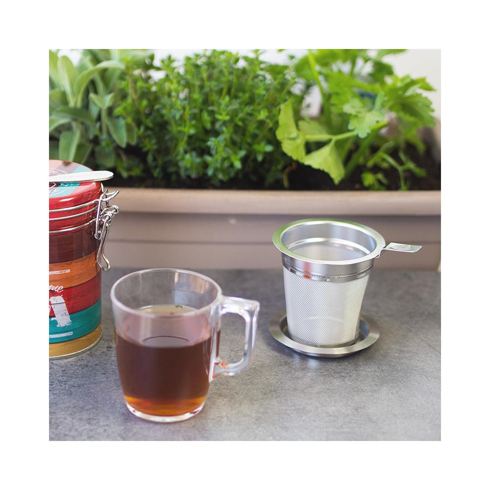 Filtre à thé inox Colors of Tea