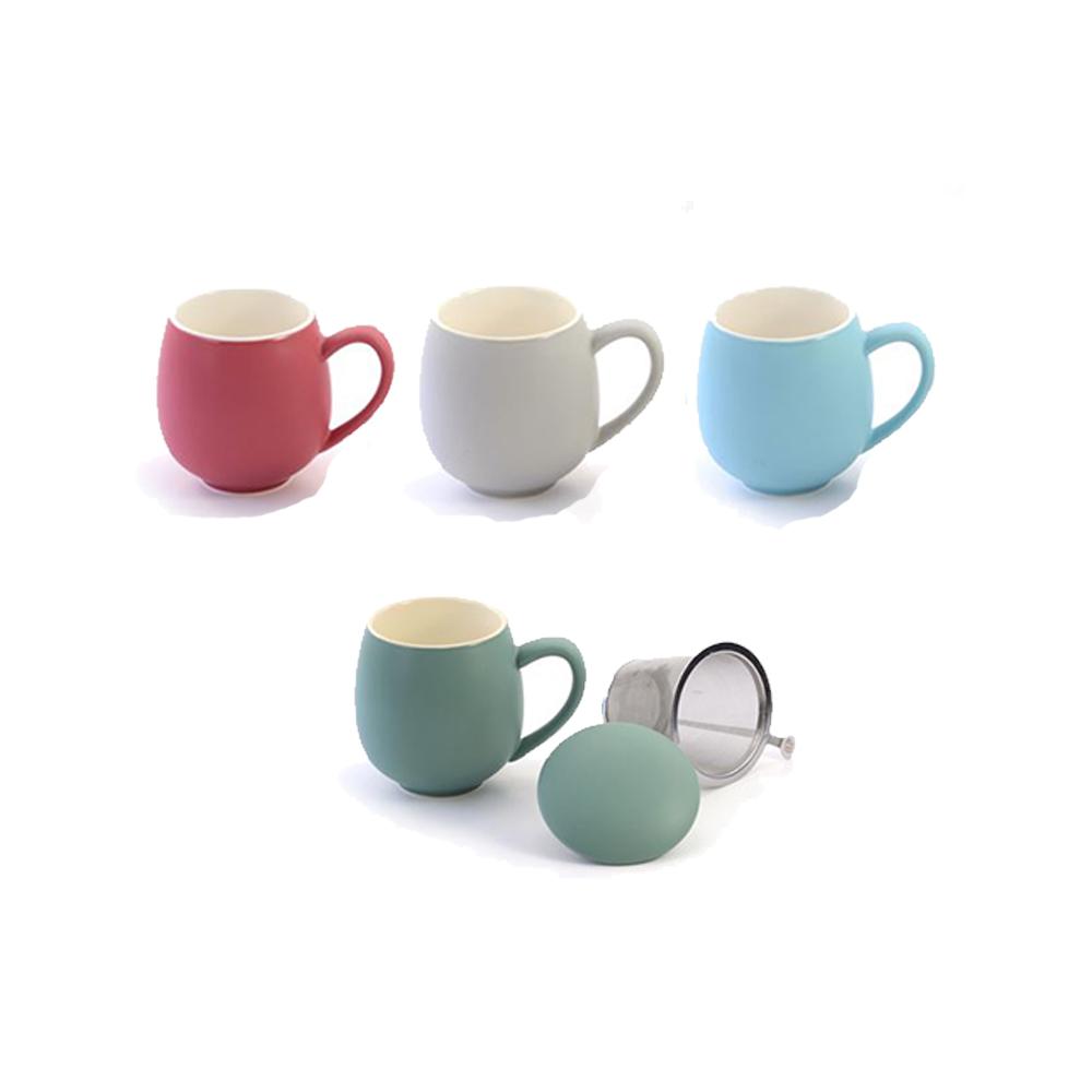 mugs mats filtre intégrés Colors of Tea