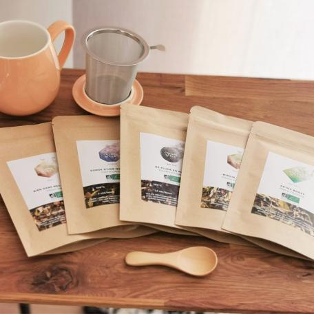 Les thés et tisanes détox BIO Colors of Tea