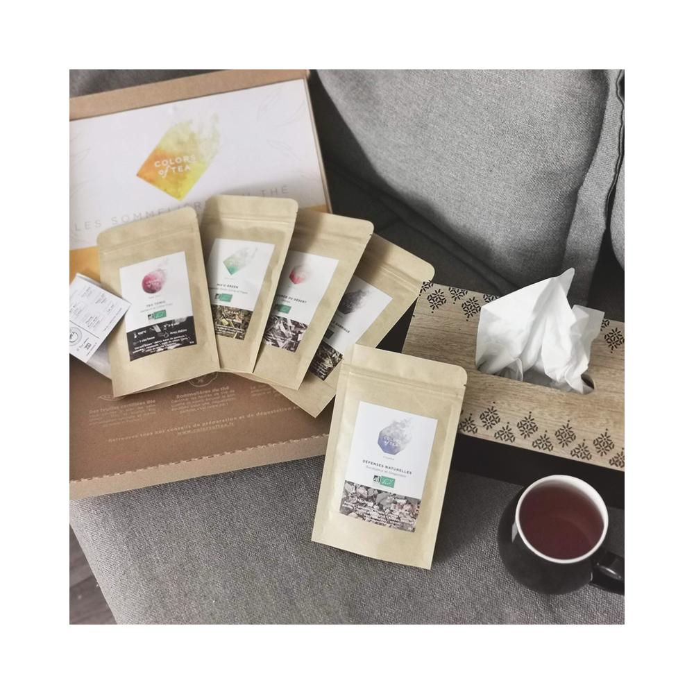 Sélection anti-rhume Pour booster ses défenses naturelles ! Colors of Tea