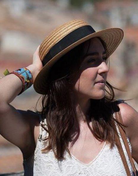 charlène Cha's Hand chapeau