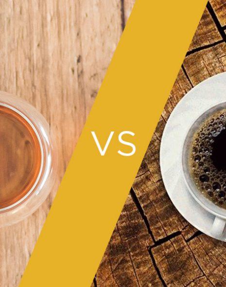 thé vs café