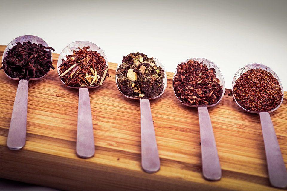 5 cuillères de thé en vrac