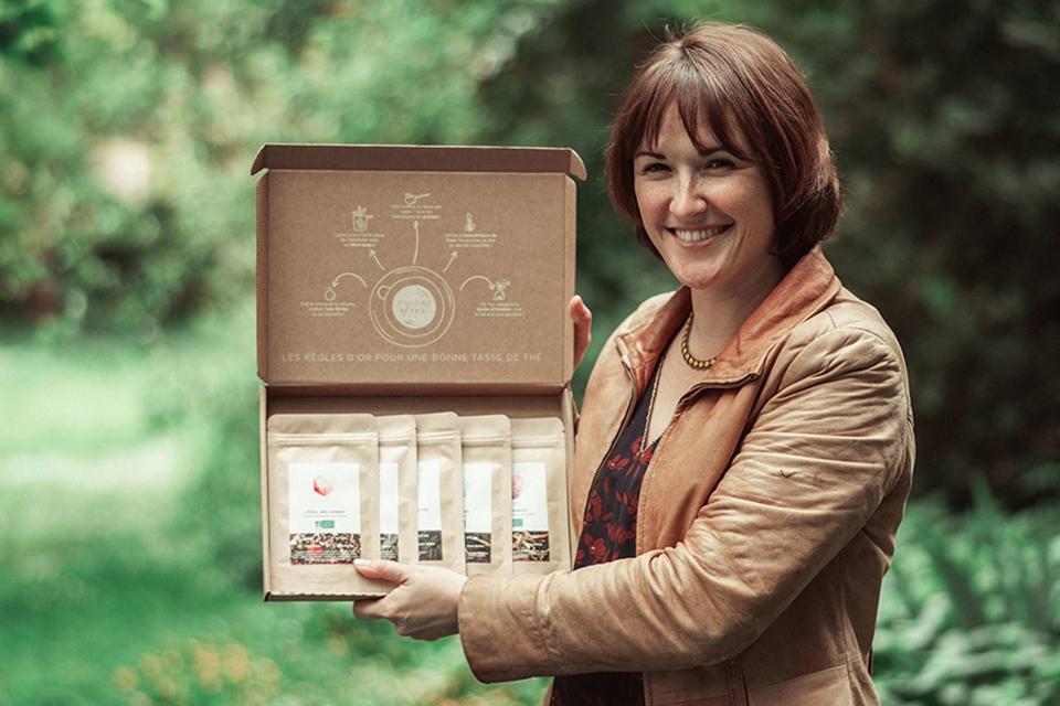 Cécile présente la box Colors of Tea