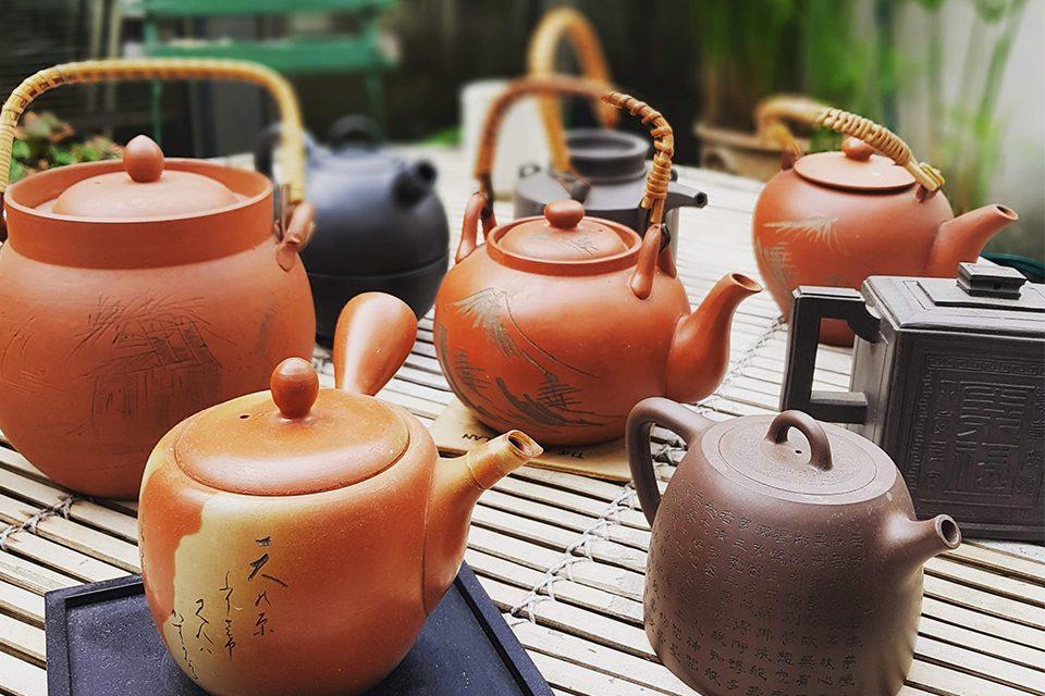 collection théières Colors of Tea