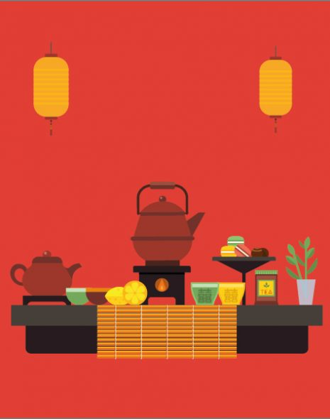 image cérémonie du thé chinoise Colors of Tea