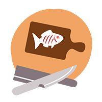 poisson et couteau