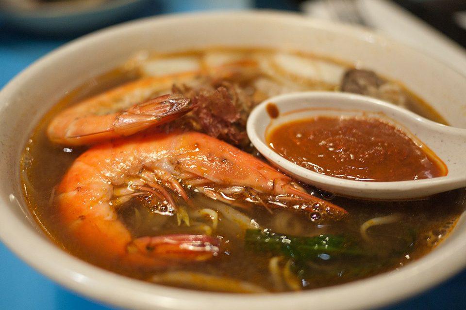 soupe de crevette