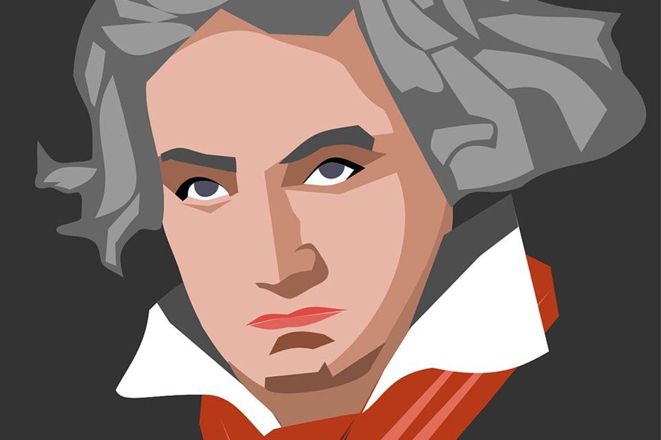 dessin Beethoven