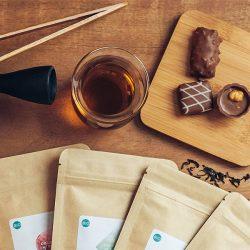 Thé et chocolat, un délice