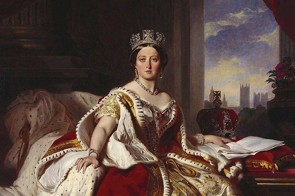 Reine Victoria peinture