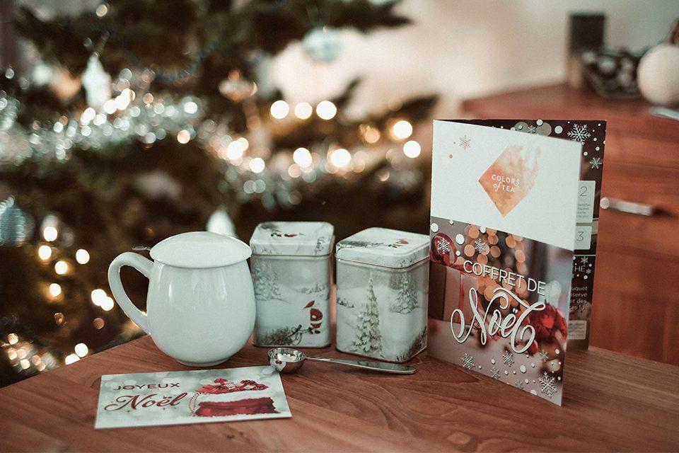 box de Noël Colors of Tea