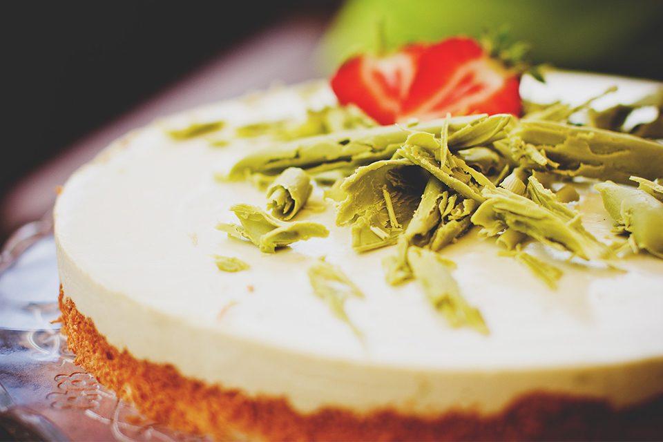 gâteau matcha