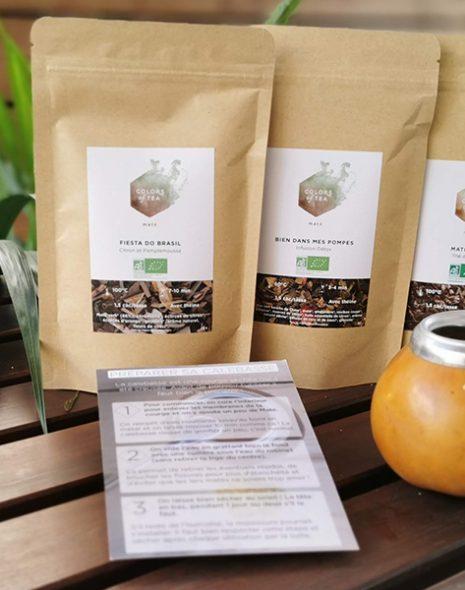 coffret maté bandeau les bienfaits du maté colors of tea