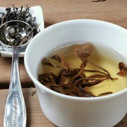 Le thé jaune, la couleur…