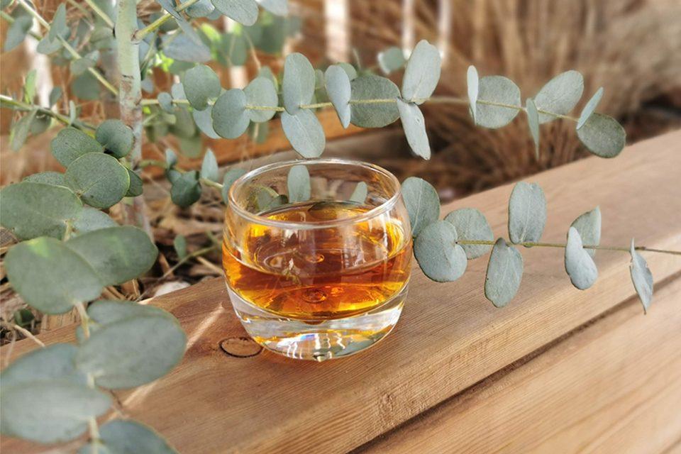 tasse de rooibos en terrasse, rooibos un thé sans théine, thé rouge colors of tea