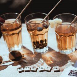 Le thé en cocktail