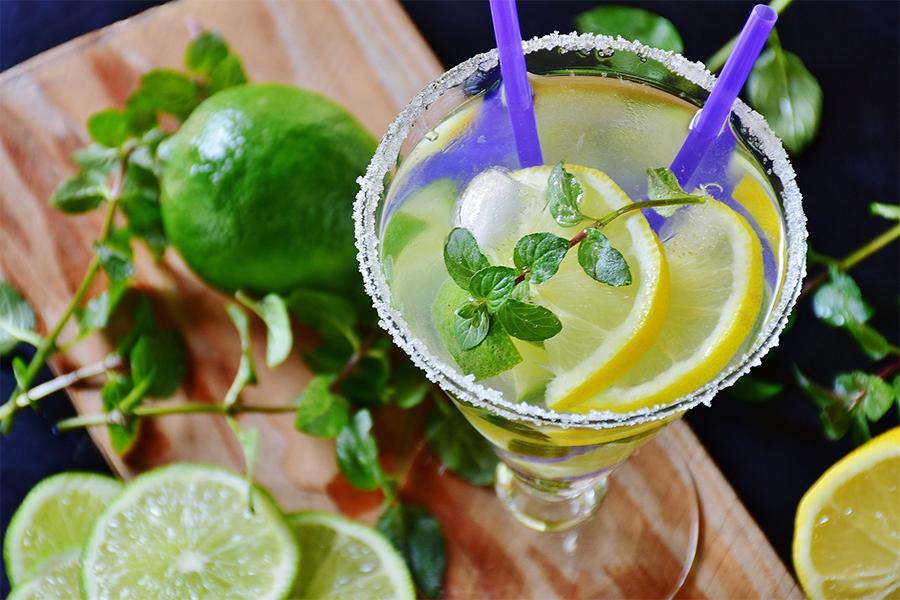 thé cocktail mojito citron vert