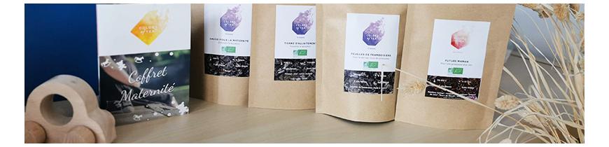 Tisanes bio pour la grossesse et l'allaitement Colors of Tea
