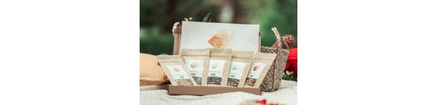 Coffrets thés et tisanes bio, pour soi ou à offrir